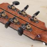 Retro paletta chitarra dreadnought Liuteria Guarnieri
