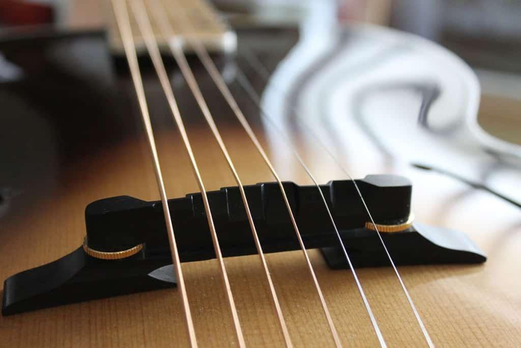 Ponte chitarra archtop Liuteria Guarnieri