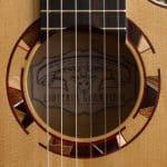 rosetta chitarra classica moderna Liuteria Guarnieri