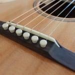 Ponte palissandro chitarra 00 Liuteria Guarnieri