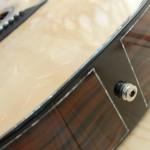 Fasce ebano makassar chitarra OM Liuteria Guarnieri