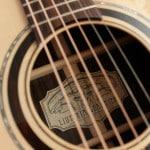 Etichetta chitarra OM Liuteria Guarnieri