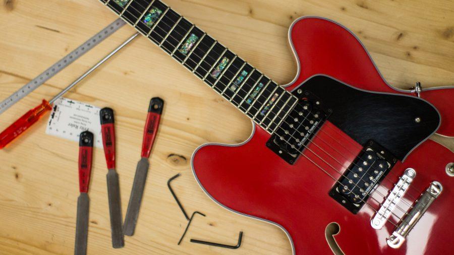 Il set-up della chitarra: relief, action e intonazione